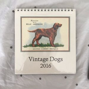 [Paper Source] Vintage Dogs Calendar